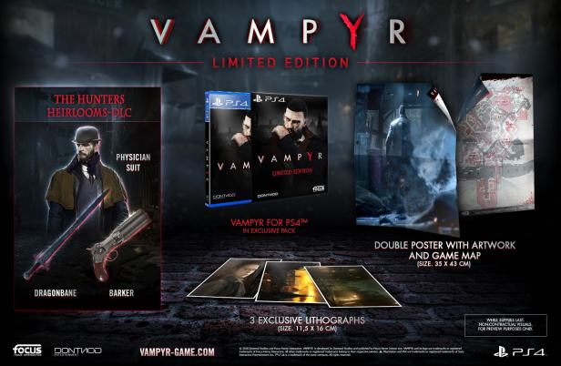 Vampyr limited edition ps4