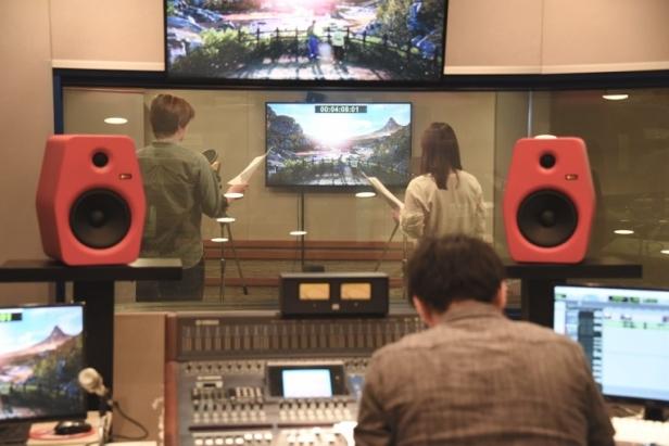 Haruka Terui Shenmue 3 recording 2