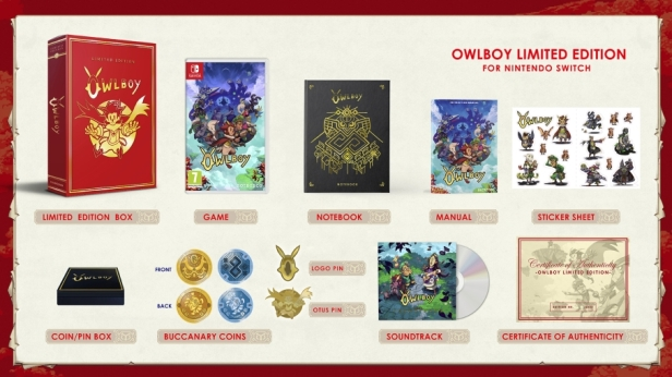 Owlboy - Limited Edition Switch