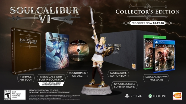Soulcalibur VI collector's edition (North America)