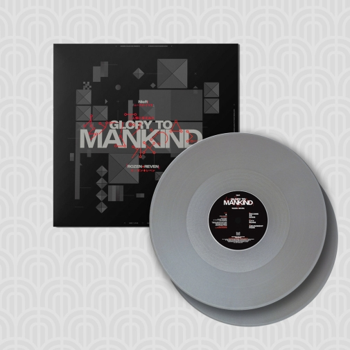 NieR - Glory to Mankind vinyl silver