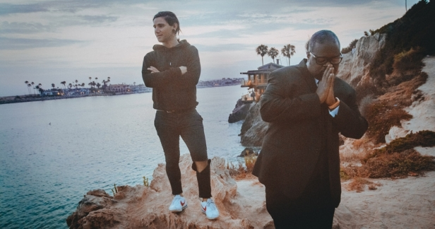 Skrillex and Poo Bear photo