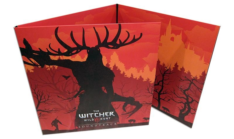 the witcher 3 wild hunt 4xlp clear vinyl soundtrack is back in stock gaming audio news. Black Bedroom Furniture Sets. Home Design Ideas