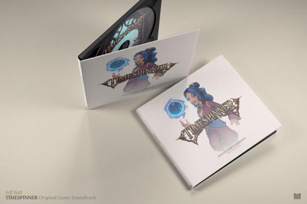Timespinner soundtrack CD