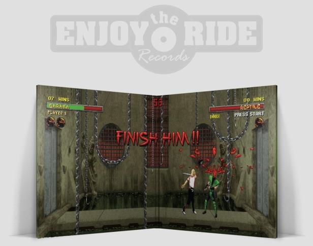 Mortal Kombat I & II Music from the Arcade Game Soundtracks interior
