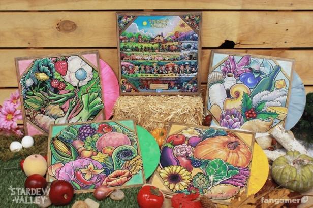 Stardew Valley Complete Vinyl soundtrack box set 02