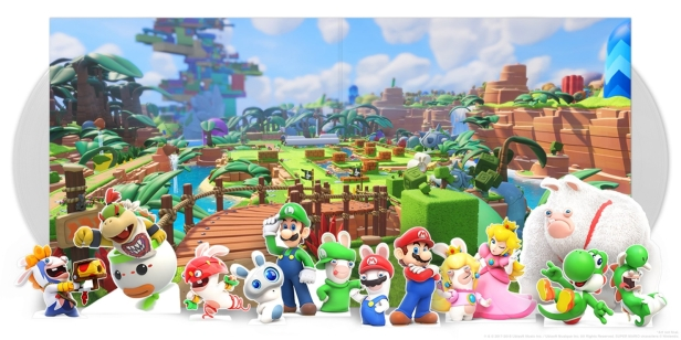 Mario + Rabbids Kingdom Battle 2xLP interior