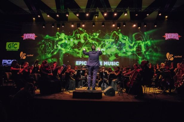 GIC 2018 Epic Game Music performance