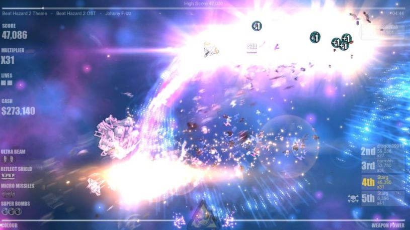 9b7f41a20 Music-powered twin-stick shooter Beat Hazard 2 gets a 'Chillout ...