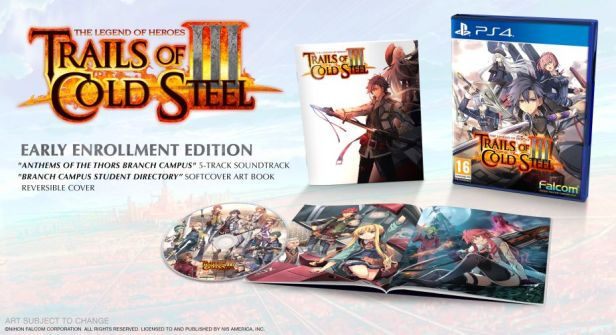 The Legend of Heroes - Trails of Cold Steel III – Early Enrollment Edition