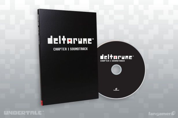 DELTARUNE Chapter 1 soundtrack CD