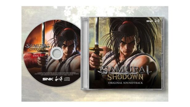 Samurai Shodown soundtrack CD