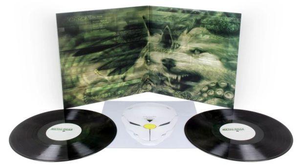 Metal Gear Solid soundtrack vinyl black