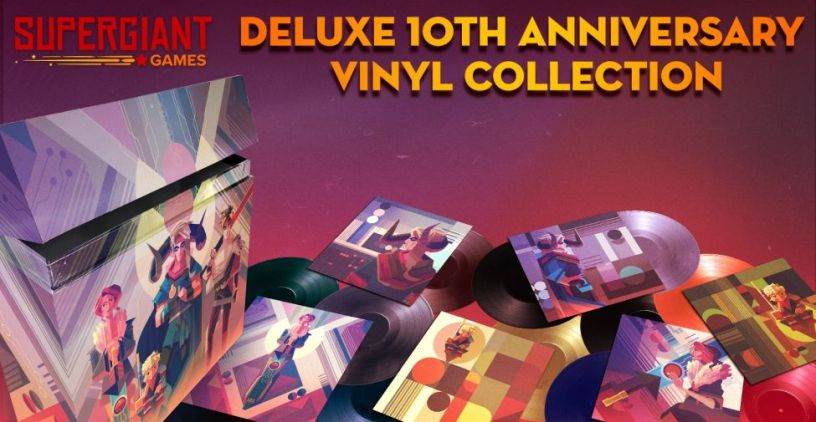 12xLP vinyl box set Supergiant: the 10th Anniversary