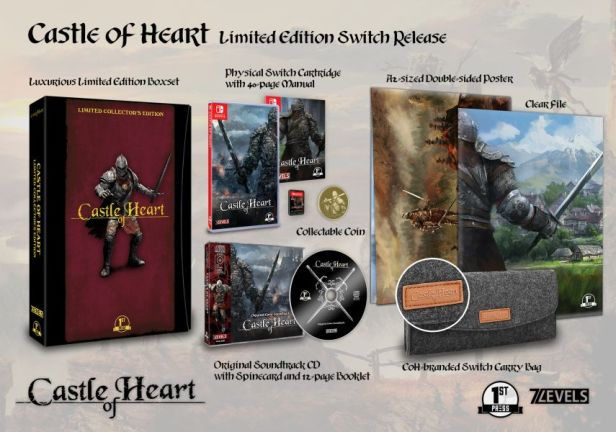 Castle of Heart - collector's edition