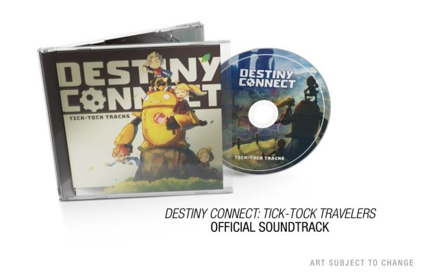 Destiny Connect - Tick-Tock Travelers soundtrack CD