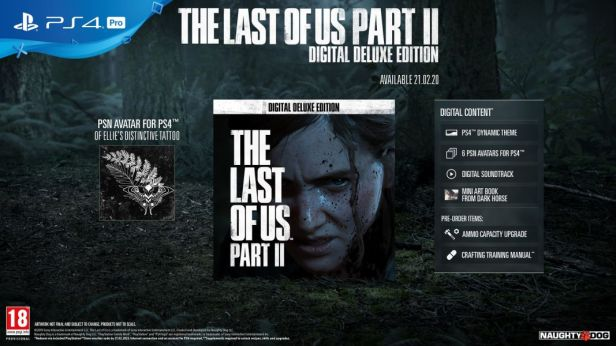 The Last of Us Part II Digital Deluxe Edition