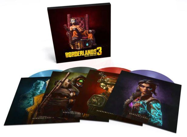 Borderlands 3 - Limited Edition 4xLP box set spread