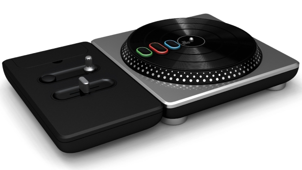 DJ Hero turntable-mixer picture