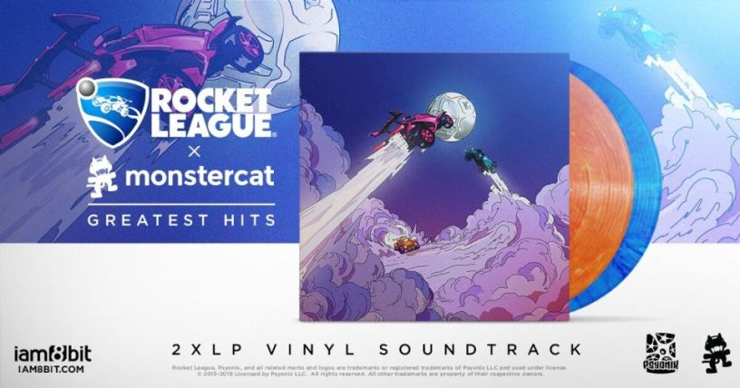 Monstercat Best Of 2021 Rocket League x Monstercat: Greatest Hits 2xLP pre orders