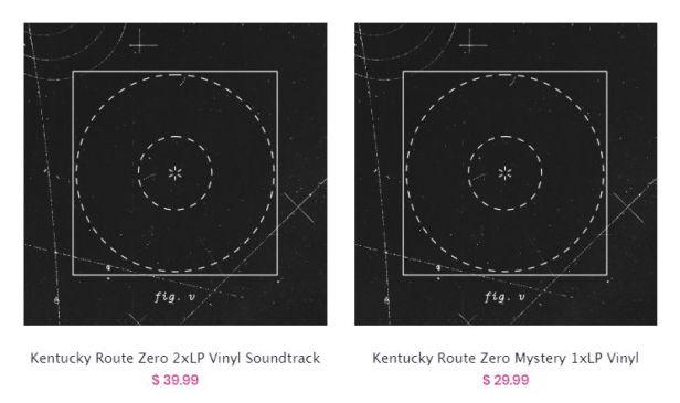 iam8bit Kentucky Route Zero vinyl releases