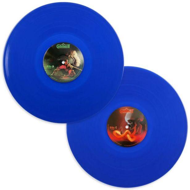 Super Castlevania IV 2xLP translucent blue vinyl