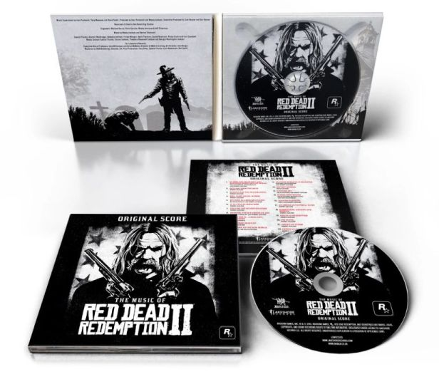 The Music of Red Dead Redemption 2 Original Score CD