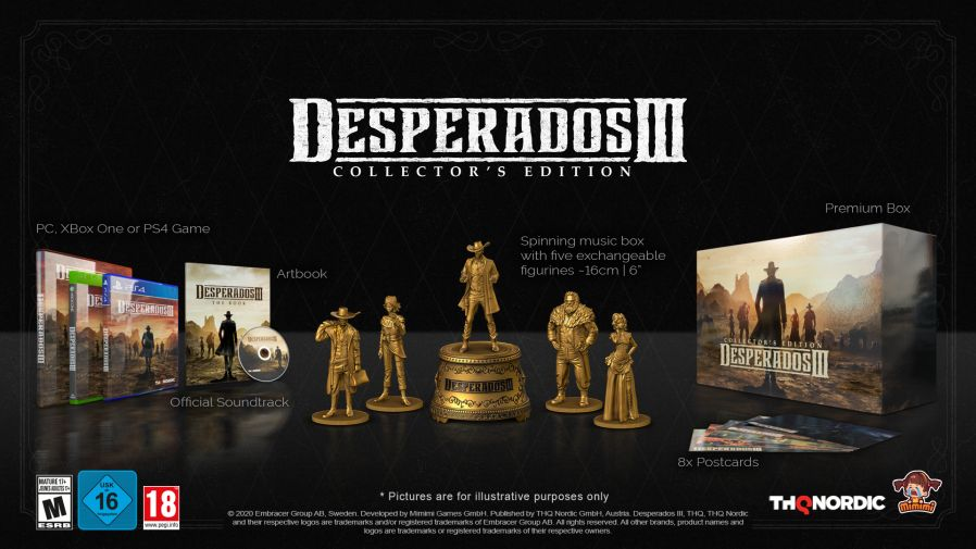 Desperados Iii Collector S Edition Includes Cd Music Box Figurines Gaming Audio News