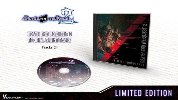 Death end re;Quest 2 soundtrack CD