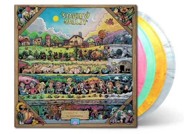 Stardew Valley 4xLP soundtrack re-press