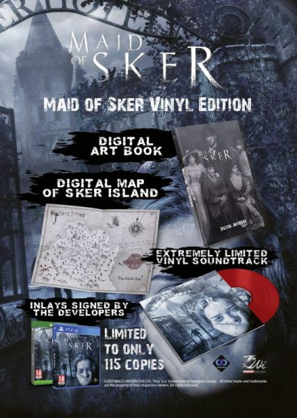 Maid of Sker - Vinyl Edition contents