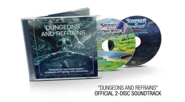 Saviors of Sapphire Wings - Stranger of Sword City Revisited - 2-CD soundtrack