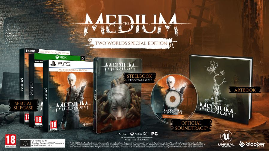 The Medium – Two Worlds Special Edition includes soundtrack CD – Gaming  Audio News
